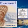 Ghana 1 Cedi Gold Plated Coin, 2020