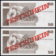 50 Test Germany's Banknote