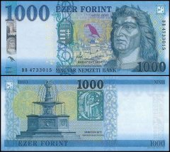 1,000 Forint Hungary's Banknote