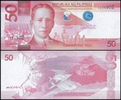 50 Peso Philippines's Banknote