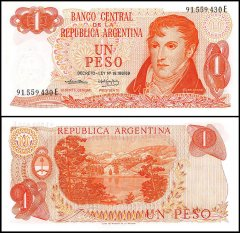 1 Peso Argentina's Banknote