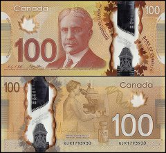 100 Dollars Canada's Banknote