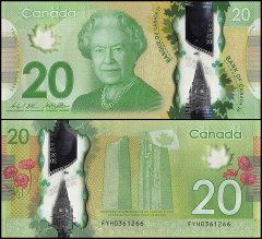 20 Dollars Canada's Banknote