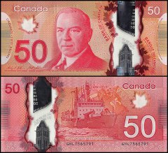 50 Dollars Canada's Banknote