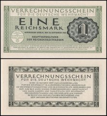 1 Reichsmark Germany's Banknote