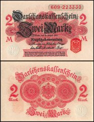 2 Mark Germany's Banknote