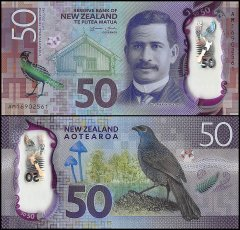 New Zealand 50 Dollars Banknote, 2016, P-194