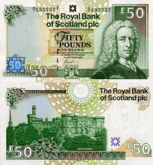 Scotland 50 Pounds Banknote, 2005, P-367