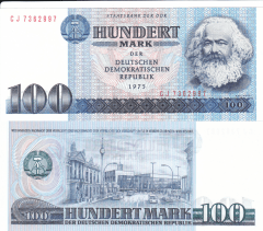 100 Mark der DDR Germany/Democratic Republic's Banknote