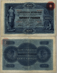 100 Franken Switzerland's Banknote