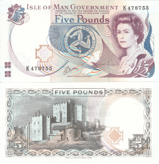 5 Pounds Isle of Man's Banknote