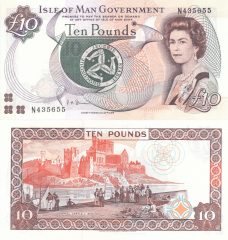 10 Pounds Isle of Man's Banknote