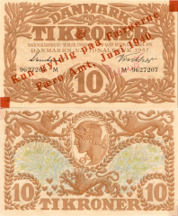 10 Kroner Faeroe Islands's Banknote