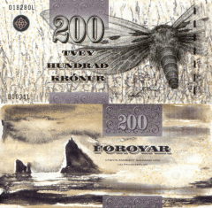200 Kronur Faeroe Islands's Banknote