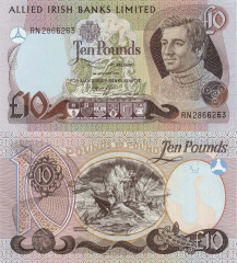 10 Pounds Ireland/Northern's Banknote