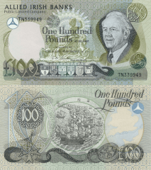 100 Pounds Ireland/Northern's Banknote