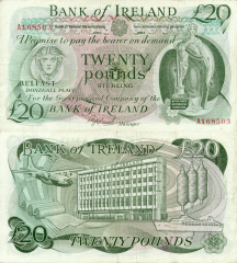 20 Pounds Ireland/Northern's Banknote