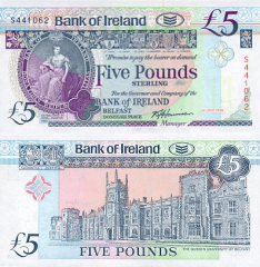 5 Pounds Ireland/Northern's Banknote