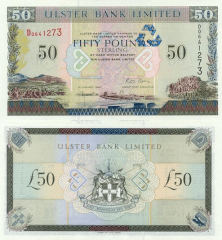 50 Pounds Ireland/Northern's Banknote
