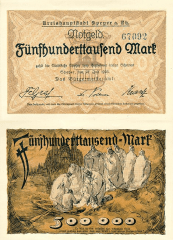 Speyer Germany/Notgeld's Banknote