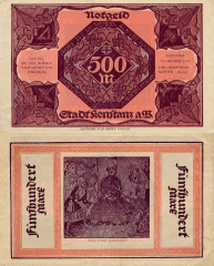 500 Mark Germany/Notgeld's Banknote