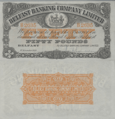 50 Pounds Netherlands Indies's Banknote