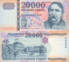 20,000 Forint Hungary's Banknote