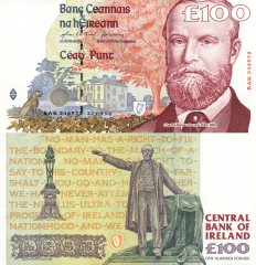 100 Pounds Ireland/Republic's Banknote