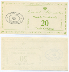 20 Skilling Greenland's Banknote