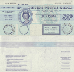 50 Pence Ascension's Banknote