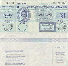 1 Pound Ascension's Banknote