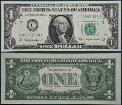 United States 1 Dollar Banknote, 1963, P-443aC