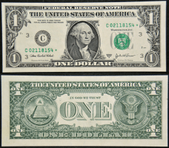 United States 1 Dollar Banknote, 2003, P-515BC