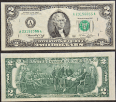 United States 2 Dollars Banknote, 1976, P-461A
