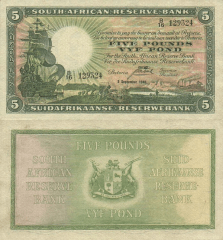 5 Pounds South Africa's Banknote