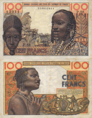 100 Francs West African States's Banknote