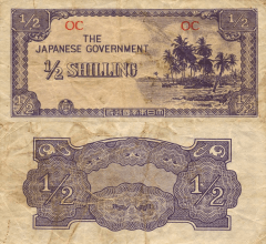 1/2 Shilling Oceania's Banknote