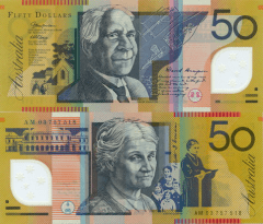 Australia 50 Dollars Banknote, 2003, P-60a