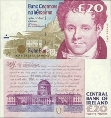 20 Pounds Ireland/Republic's Banknote