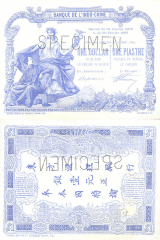 1 Dollar  French Indochina's Banknote