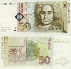 Germany/Federal Republic 50 Deutsche Mark Banknote, 1996, P-45r