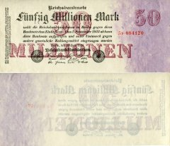 Germany 50,000,000 Mark Banknote, 1923, P-98.2