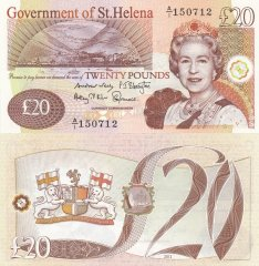 St. Helena 20 Pounds Banknote, 2012, P-13b