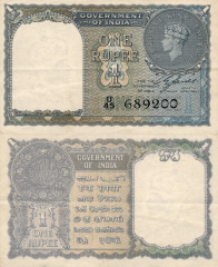 1 Rupee India's Banknote