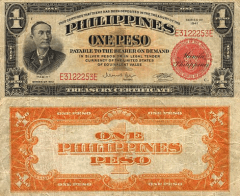 1 Peso Philippines's Banknote