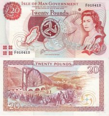 20 Pounds Isle of Man's Banknote