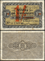 Guernsey 1 Shilling Banknote, 1943, P-29