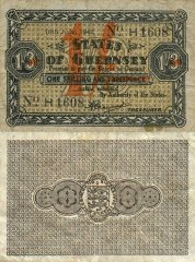 Guernsey 1 Shilling Banknote, 1942, P-27