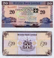 20 Pounds Sterling Ireland/Northern's Banknote