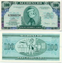 Fantasy Issues 100 Fantasy Banknote, 1988, P-ACC-006